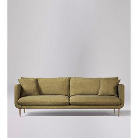 image-Swoon Freja Three-Seater Sofa in Safari House Weave With Light Feet