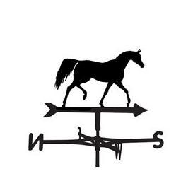 image-Weathervane in Arab Horse Design - Large (Traditional)