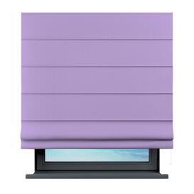 image-Arham Semi-Sheer Roman Blind Brayden Studio Size: 100 cm L x 100 cm W, Finish: Lavender