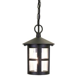 image-Elstead BL21B Hereford exterior black hanging porch light, IP20