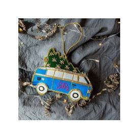 image-G&G Christmas Tree Campervan Decoration