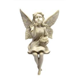 image-Fairy Blowing Kisses Garden Ornament