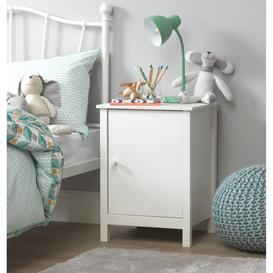 image-Habitat Scandinavia White Kids Bedside Chest