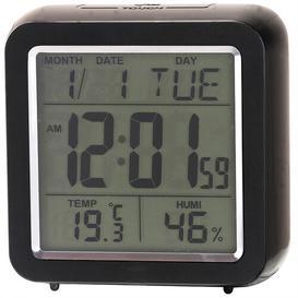 image-Chadwick Multi Function Digital Alarm Clock Ebern Designs Finish: Black