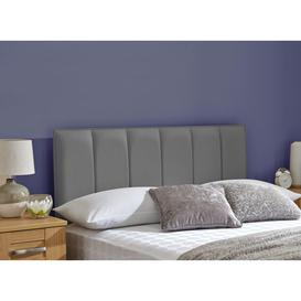 image-Columbia Headboard 4'0 Small double GREY