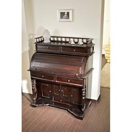 image-Knocknaboul Secretary Desk Rosalind Wheeler Colour: Dark brown