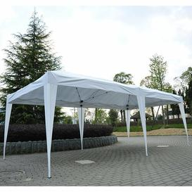 image-Wallace 3m x 6m Steel Pop-Up Gazebo Sol 72 Outdoor Roof Colour: White