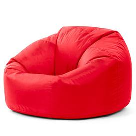 image-Bean Bag Chair Mercury Row Upholstery Colour: Red