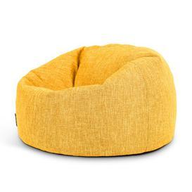 image-Broughtonvillen Classic Bean Bag Ebern Designs Upholstery Colour: Yellow