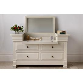 image-Manoir Painted Dressing Chest - Brass Handles