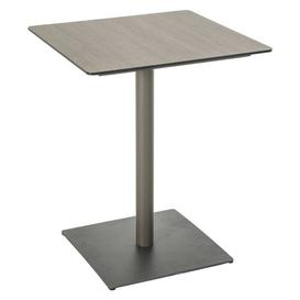 image-Roque Aluminium Bistro Table Sol 72 Outdoor Table Top Colour: Taupe