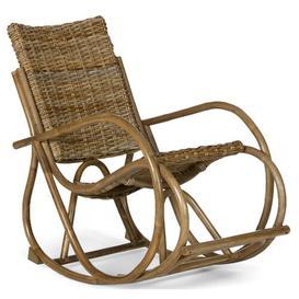 image-Kuba Rocking Chair Massivum Colour: Grey