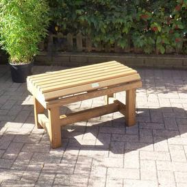 image-Carrabelle Wooden Bench Sol 72 Outdoor Size: Small