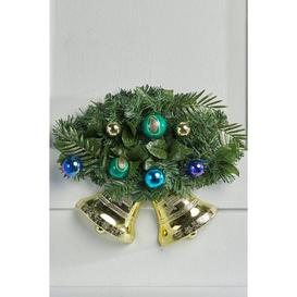 image-Peacock Twin Bells Decoration