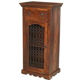image-Kanpur Indian Sheesham Entertainment Hi-Fi Cabinet