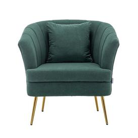 image-Glaspie Tub Chair Fairmont Park Upholstery Colour: Green