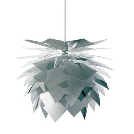 image-PineApple 1-Light Novelty Pendant Dyberg Larsen Finish: Mirror, Size: 35cm H x 35cm W x 35cm D