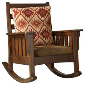 image-Maxie Rocking Chair Union Rustic