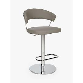 image-Connubia by Calligaris New York Adjustable Gas Lift Bar Chair