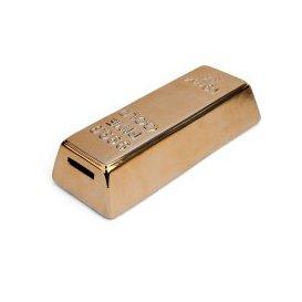 image-Gold Bar Coin Bank