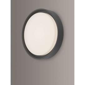 image-Där Ralph LED Large Flush Outdoor Wall Light, Anthracite