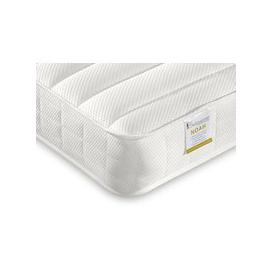 "image-Bedmaster Noah Memory Sprung Low Profile Mattress - Single (3' x 6'3"")"