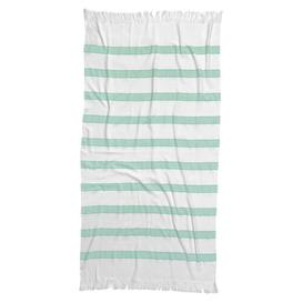 image-Haman Beach Towel Tom Tailor Colour: Green/White