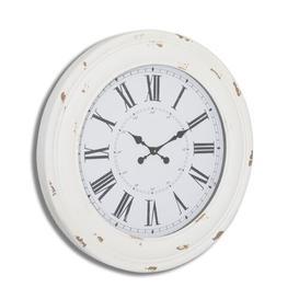 image-Fitchett Oversized 78cm Wall Clock Fleur De Lis Living