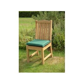 image-Extra Large Seat Pad Outdoor Cushion - Forest Green