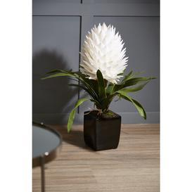 image-40cm Artificial Flowering Plant in Pot Ebern Designs