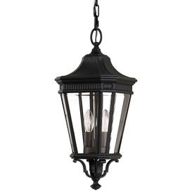 image-Tilda 2 Light Outdoor Hanging Lantern Sol 72 Outdoor Finish: Black