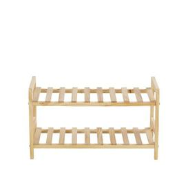 image-6 Pair Shoe Rack Rebrilliant Finish: Natural