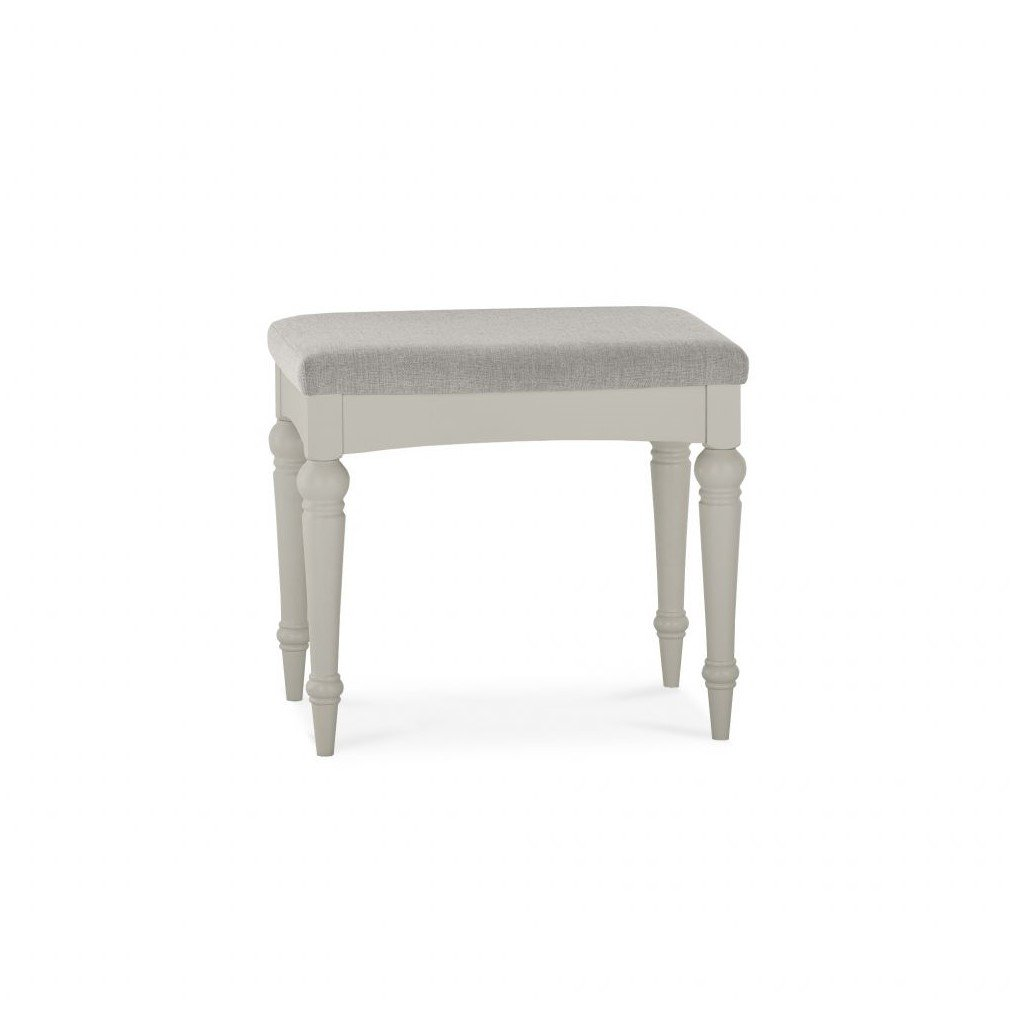 image-Montreux Urban Grey Painted Furniture Dressing Table Stool