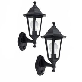 image-Mcmahan Outdoor Wall Lantern with Motion Sensor Marlow Home Co.