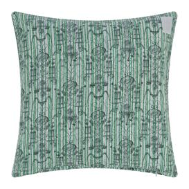 image-Zoeppritz since 1828 - Believe In Centuries Cushion - 40x40cm - Green