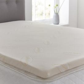 image-Impress 5cm Memory Foam Mattress Topper Silentnight Size: Single (3')
