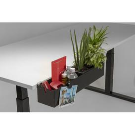 image-Screven Desk Organisers Symple Stuff Colour: Black, Size: 11cm H x 60cm W x 12cm D