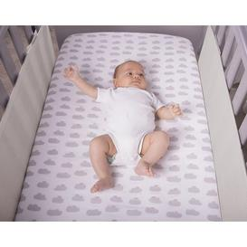 image-Safe Dreams 2 Sided Cot Wrap