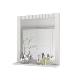 image-Vernita Bathroom Mirror August Grove Finish: White