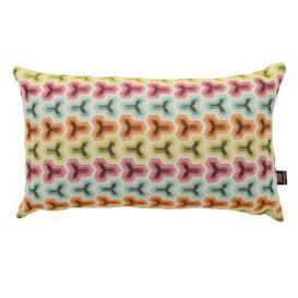 image-Braid Geometric Rectangle Lumbar Cushion Corrigan Studio