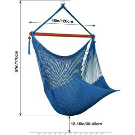 image-Canina 100% Polyester Hanging Chair