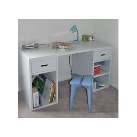 image-Mathy by Bols Kids Desk in Madaket Design - Mathy Coral