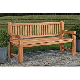 image-Retford Teak Bench Sol 72 Outdoor Size: 93cm H x 200cm W x 61cm D