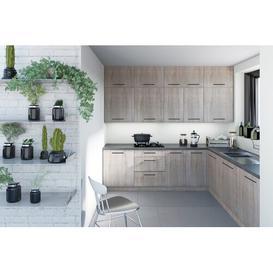 image-Zoe Kitchen Pantry wm88 Finish: Grey Oak