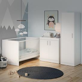 image-Manion Cot Bed 3 Piece Nursery Furniture Set Isabelle & Max