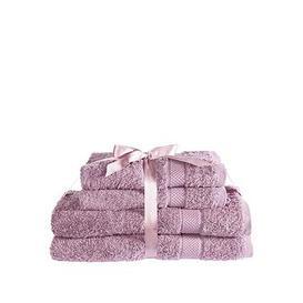 image-Downland Luxury 600Gsm 4-Piece Towel Bale