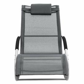 image-Ryals Sun Lounger Symple Stuff Colour: Grey