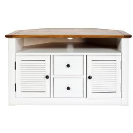 """image-Currin Corner TV Stand for TVs up to 40\"""" Beachcrest Home"""