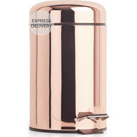 image-Lilo Bathroom Pedal Bin 3L, Copper