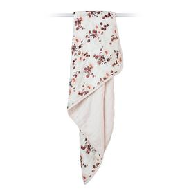 image-Lulujo Bamboo Crib Blanket - Ecualyptus